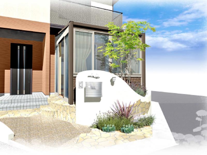 ガーデンルームはくつろぎの空間