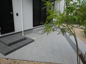 ななめデザインでお庭を広く 大津市