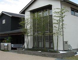 石と竹でこだわりの外構 京都市