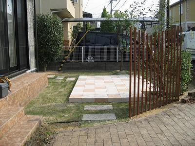 休眠中のお庭から活用できるお庭に 大津市