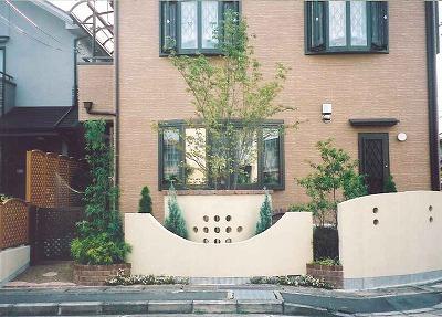 インパクトのあるシンメトリーなデザイン 京都市