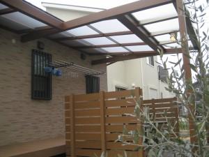 心地いい空間 ガーデンテラス 近江八幡市 エコ村