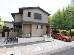 天然石を贅沢にデザインしたファサード 京都市