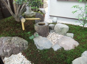 庭の中のお住まい 草津市