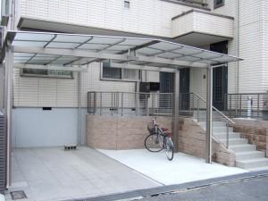機能的なシンプル外構 大津市