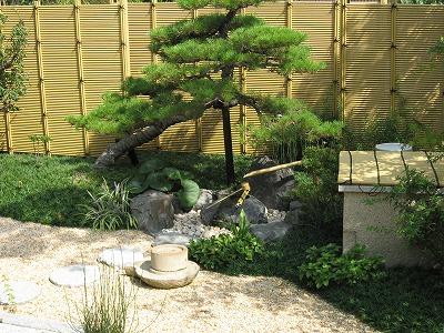 落ち着きの日本庭園 京都市