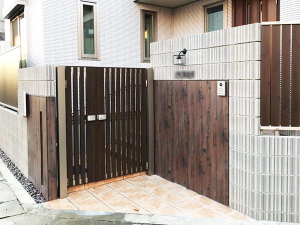 落ち着いた佇まいの建物にナチュラル感をマッチング 京都市