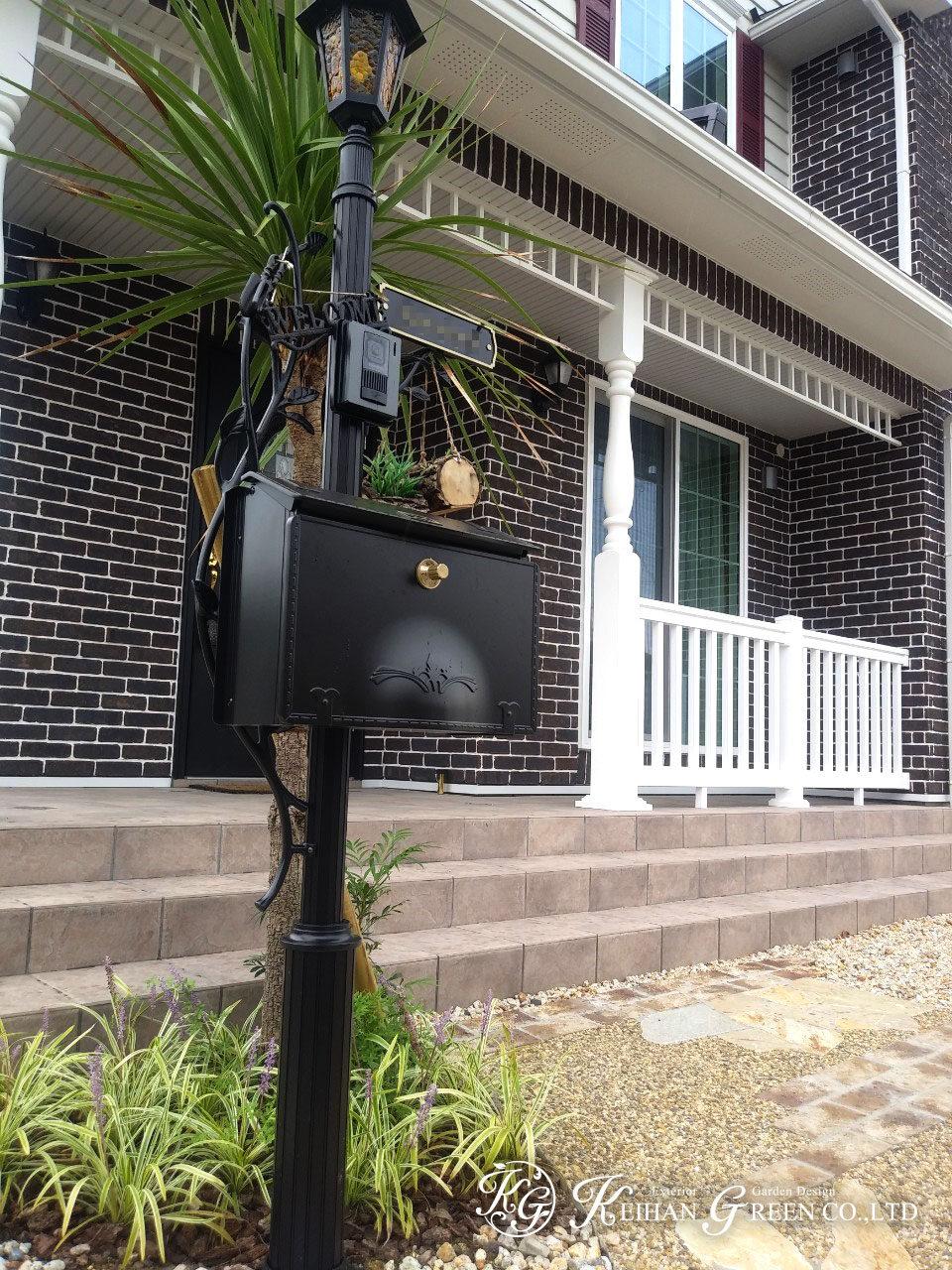 カナダ輸入住宅のオープンエクステリア 東近江市