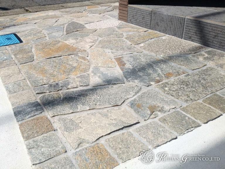 落ち着きのある和風モダンスタイルのエクステリア 大津市